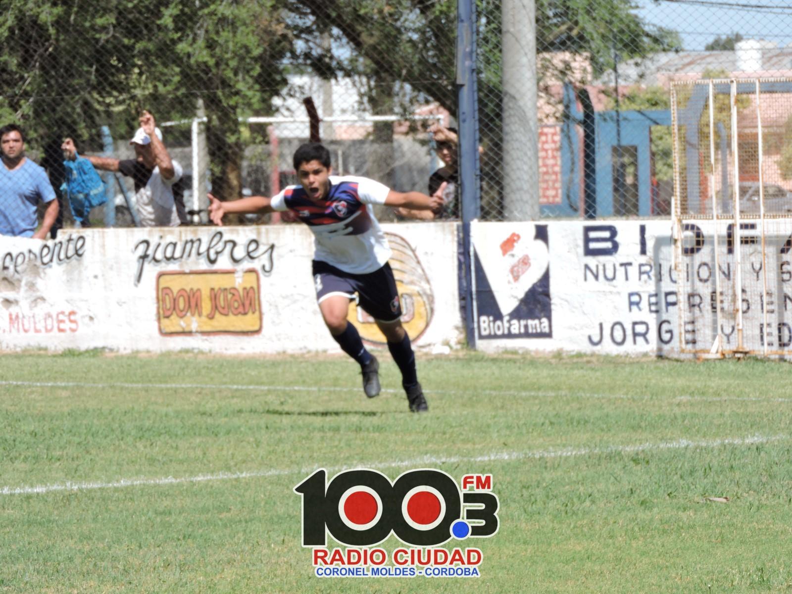 El grito de gol de Roman Matteoda para la victoria de la Sub 13